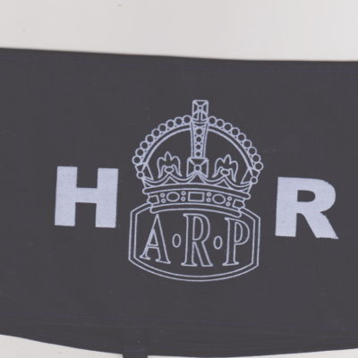 British Army HOME FRONT ARP HR armband