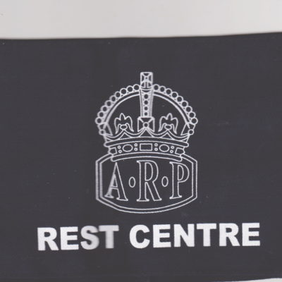 British Army HOME FRONT ARP REST CENTRE armband