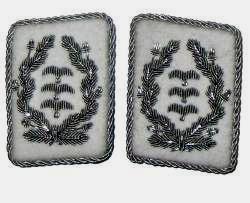 German WW2 Luftwaffe H.Goring Division Colonel collar tabs