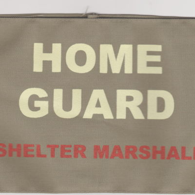 British Army Home Guard Shelter Marshall armband