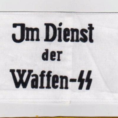 Im dienst der Waffen SS Armband