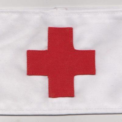 German WW2 Red Cross Armband multi piece construction