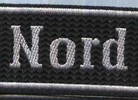 German Army NORD cuff title BEVO