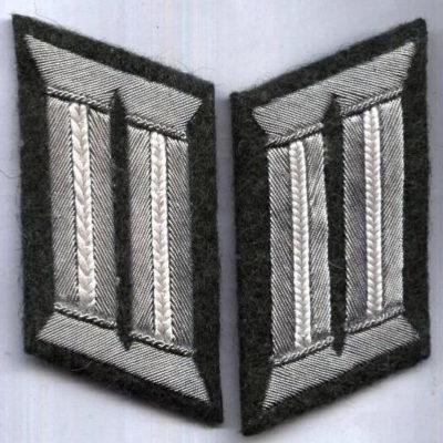 German Army Officer Collar tabs (ju)