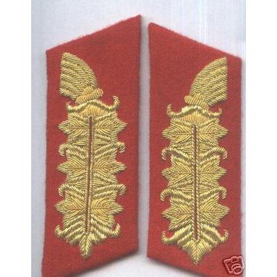 German Heer Feldmarshall Collar boards