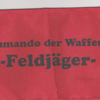 Kommando der Waffen SS- Feldjager Armband