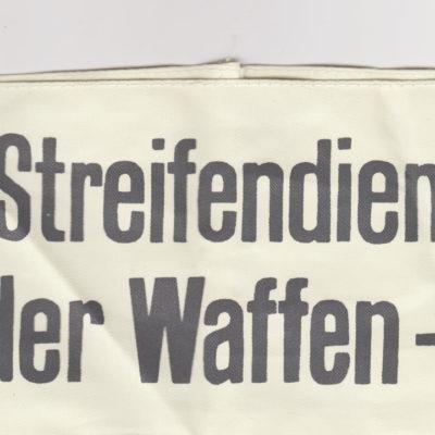Streifendienst der Waffen SS Armband