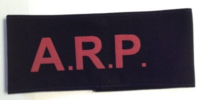 British Army Air Raid Precautions Armband