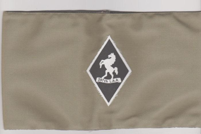 British army 297th LAA Regiment Armband
