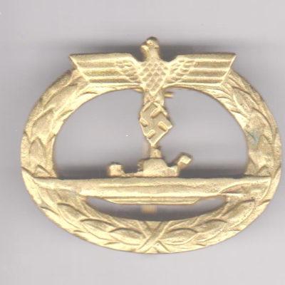German U Boat badge