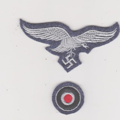 Luftwaffe Cap eagle and Cockade enlisted man