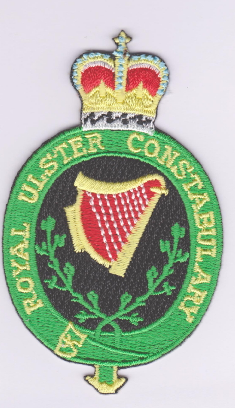 Royal Ulster Constabulary Badge Cloth