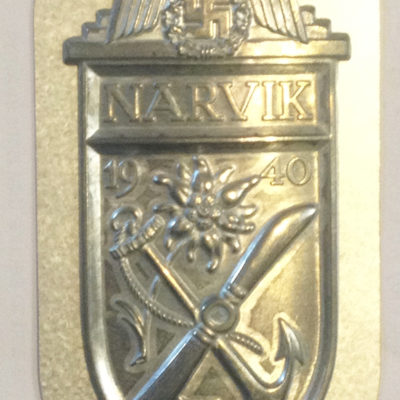 German Army Narvik Shield
