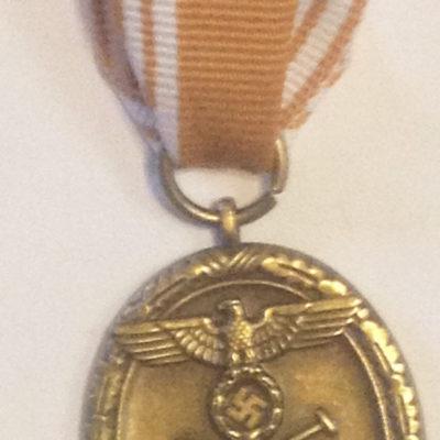 German Army West Wall Medal