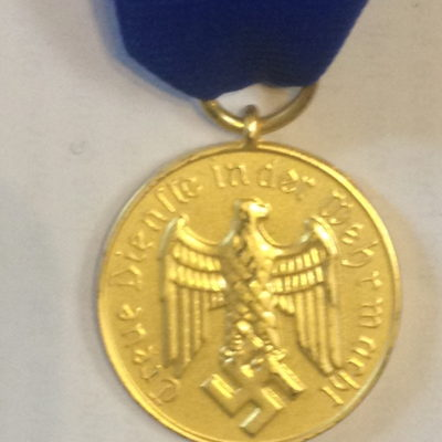 GERMAN LONG SERVICE AWARD OF THE WEHRMACHT 12 YEARS