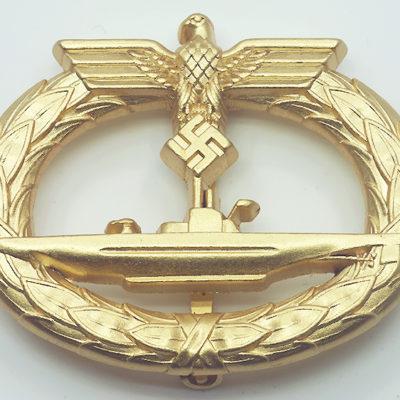 Kriegsmarine U Boat Badge
