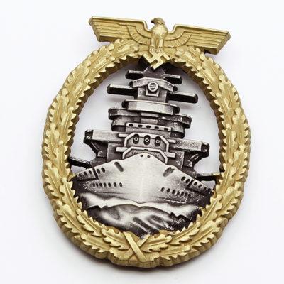 Kriegsmarine High Seas Fleet Service Badge