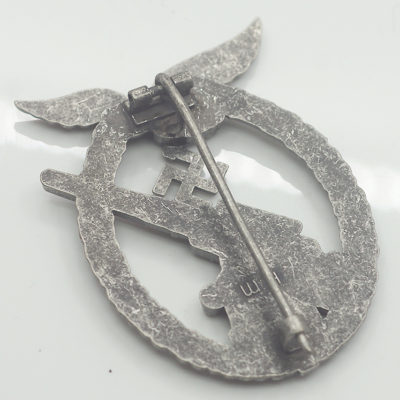 Luftwaffe Flak Badge reverse