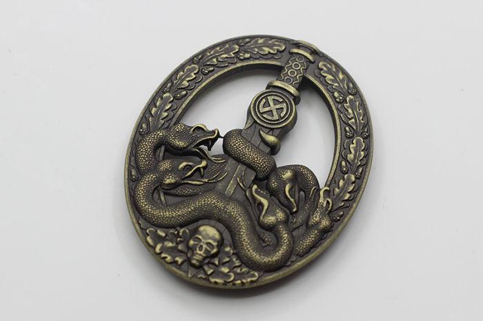 Anti-Partisan War Badge in Bronze