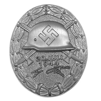 German 1944 Wound Badge in Silver