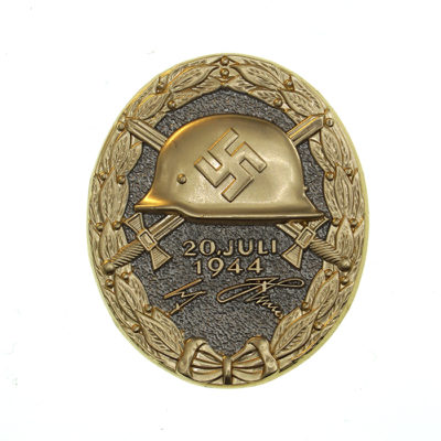 German 1944 Wound Badge in Gold
