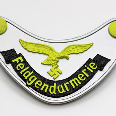 Luftwaffe Feldgendarmerie Gorget