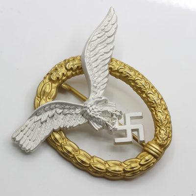 Luftwaffe Pilot Observer Badge