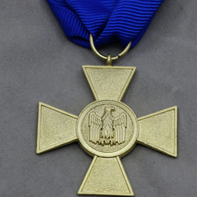 GERMAN ARMY 1957 Issue 25 Year Service medal