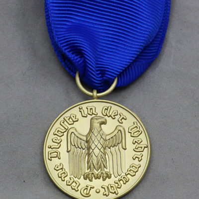 GERMAN ARMY 1957 Issue 12 Year Service medal