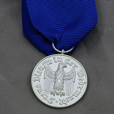 GERMAN ARMY 1957 Issue 4 Year Service medal