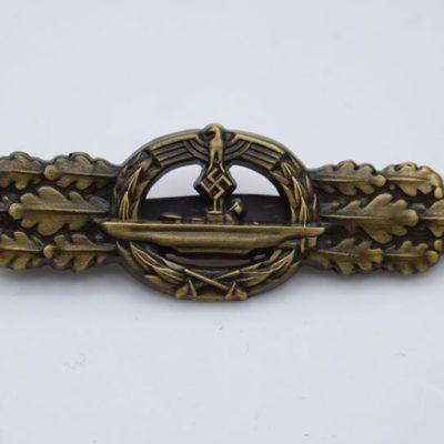 U-Boat combat Clasp in Bronze