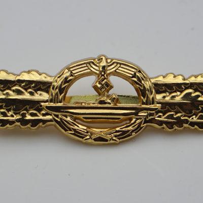 U-boat combat Clasp in Gold