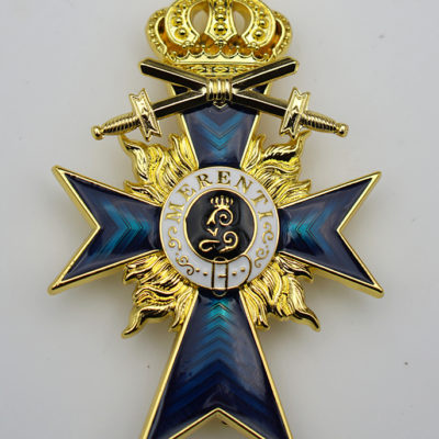 Bavarian Merit Cross 2nd Class with Swords