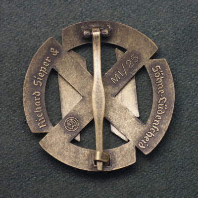 SS Proficiency Sport Badge in Bronze reverse