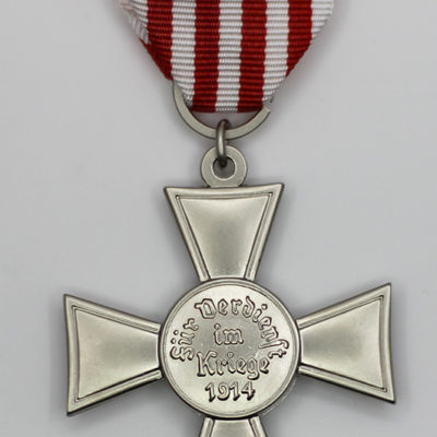 Bremen Hansa Cross 1914 reverse