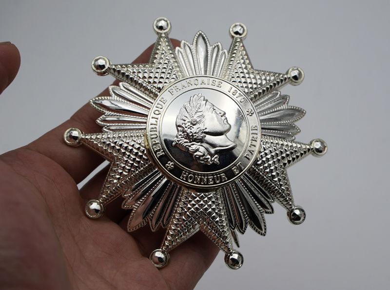 French Legion of Honor Breast Star in Silver FRENCH LEGION D`HONNEUR