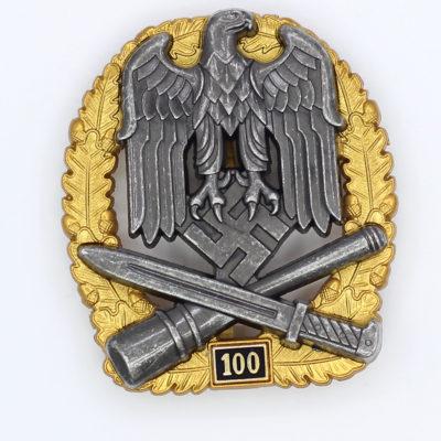 General Assault Badge 100 Engagements
