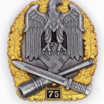 General Assault Badge 75 Engagements