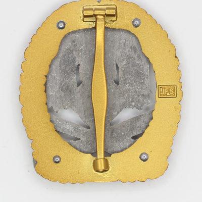 General Assault Badge 75 Engagements reverse
