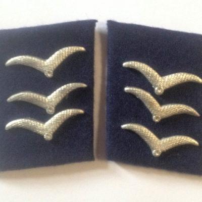 German Luftwaffe MEDIC OBERGEFREITER Collar tabs