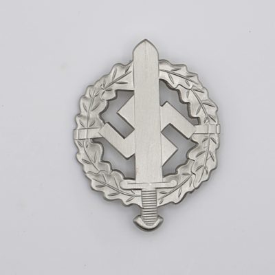 SA Sport Badge in Silver