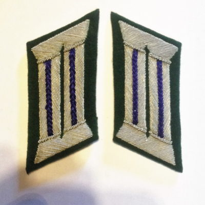 GERMAN ARMY OFFICER CHAPLAIN COLLAR TABS