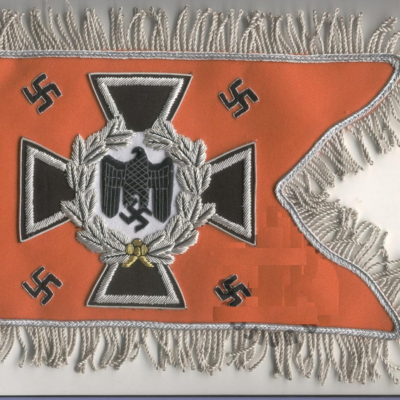 German Army Feldgendarmerie Pennant