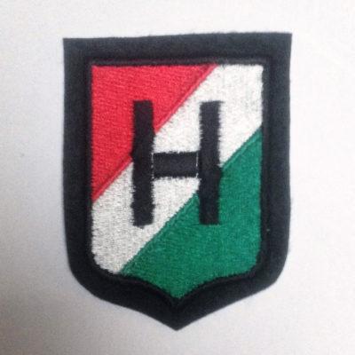 GERMAN ARMY HUNGARIAN VOLUNTEERS SLEEVE SHIELD