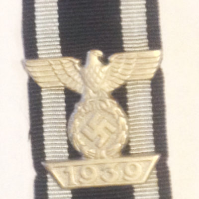 1939 Bar to the Iron Cross 2nd Class