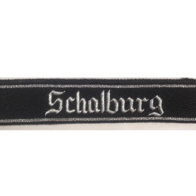 German Army WAFFEN SS OFFICERS SCHALBURG CUFF TITLE