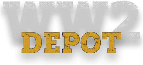 WW2 Depot militaria for collectors, re-enactors, exhibitions and media productions