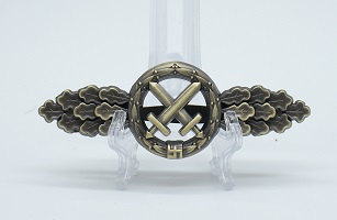 Luftwaffe Air to Ground Support Fighters Clasp in Bronze